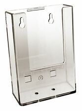 Taymar DL, Wall Mounted, 1/3 A4 PORTRAIT Single Pocket leaflet holder - W104