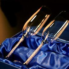 Wedding Wine Glass Champagne Flutes Crystalline Wine 2pcs Luxury Party Toasting