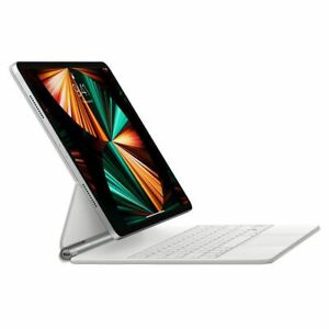 Apple - Magic Keyboard for 12.9-inch iPad Pro (3rd, 4th, or 5th Gen) - White