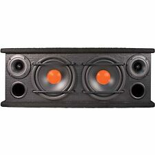 "Double Dual Speaker Box 6.5"" Mid Range Tweeter Car Audio 300W Built-in Bargain!"