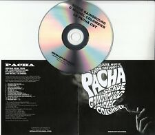 SERGE GAINSBOURG & MICHEL COLOMBIER La Pacha UK promo test CD + press release