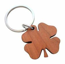 Wood Clover Keychain - Lucky to Have You; Couples Keychain