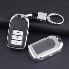 Smart Car Key Chain Ring Cover Holder Case Accessories For Honda Accord Civic