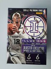 2019-20 Panini Illusions Basketball NBA Blaster Sealed Box