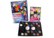 Eulenspiegel 12 Farben-Profi-Schmink-Palette Schminke Kinderschminke Fasching