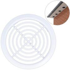 10 x ROOF AIR VENTS White Soffit UPVC Loft Attic Ventilation 80mm Push Fit Disc