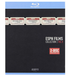 Espn Films Collection Volume 1 Blu-Ray Brand New 2 Disc Sports Collector Edition