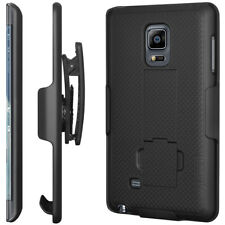 AMZER Shellster™ with Kickstand - Black For Samsung GALAXY Note Edge SM-N915F