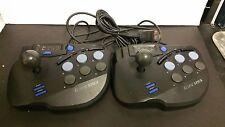 2 Eclipse Arcade Joystick Joy Stick Controllers for Sega Saturn (Works Great)