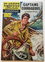CLASSICS ILLUSTRATED #117 - Captain Courageous - 1st printing 1954 VG+ 4.5