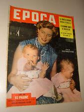 EPOCA=1953/143=MONTEVERGINE=SUSAN SHENTALL=CARAVATE=LORENZO LOTTO MOSTRA=
