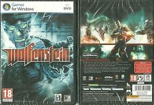 RARE / JEU PC - WOLFENSTEIN ( NEUF EMBALLE - NEW & SEALED ) / EN FRANCAIS