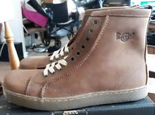 Dr Martens 2B28 Peanut 10 Eyelet Leather Boot Welt Construction US 12 UK 11