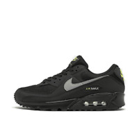 Men's Nike Air Max 90 Casual Shoes Black/Light Smoke/Volt CV1634 001
