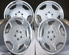 "18"" RETRO MONO BLOCK ALLOY WHEELS FIT MERCEDES C E CLASS CLK CLC CLS SL SLK"