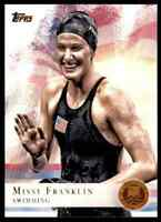 2012 TOPPS OLYMPICS COPPER MISSY FRANKLIN SWIMMING #59 PARALLEL