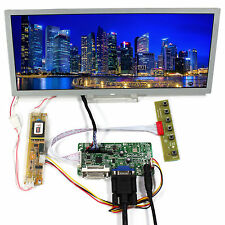 DVI VGA LCD Controller Board With 12.3inch 1280x480 LQ123K1LG03 LCD Screen