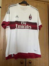 Ac Milan Italy 2015/2016 Away Football Shirt Jersey Maglia Size 2Xl Adidas