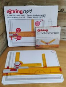 Rotring Rapid A3 Drawing Board + Drafting Head - Quality Architect Technical Art