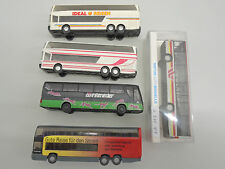 Herpa / Rietze / Wiking Reisebus-Konvolut S 315, MB 0 404, S 228 DT, 1 x OVP