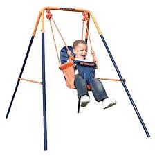 Hedstrom Folding Toddler Play Swing Boys & Girls 6 Months Robust Steel Frame