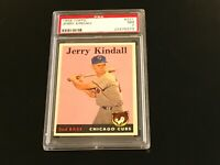 1958 Topps #221 Jerry Kindall Chicago Cubs PSA 7