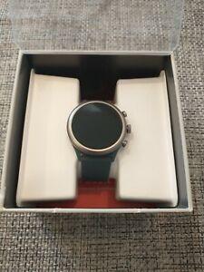 Fossil, Sport Smart Watch (DW9F2), Steel Blue Wristband & Steel Gray Case