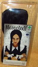 PARRUCCA TRECCE NERE MERCOLEDI' cod.14185