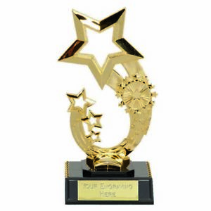 Personalised Engraved Rising Star6 Trophy Great Player Team Award