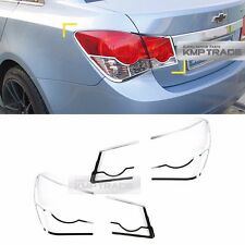 Chrome Rear Tail Lamp Molding Trim Garnish Cover for CHEVROLET 2008-2014 Cruze