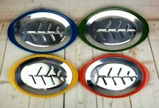 Chadwick-Miller Steak Sizzler Set of 4 Platter Holder Fajita Plates 4 Colors