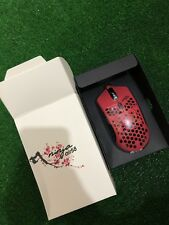 Final Mouse Air58 Ninja Cherry Blossom Red eSports Gaming Mouse 58g - LIMITED