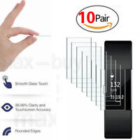 Supershieldz HD Clear Tempered Full Cover Screen Protector For Fitbit Charge 2