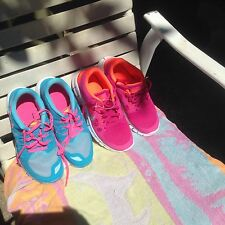 New Lot Of 2 Pairs women's Nike Free 5.0 in Size 5Y(7-7.5M)