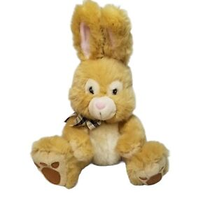 Russ Berrie TOFFEE Easter Bunny Rabbit Plush Stuffed Animal Toy Ears Up  #37302