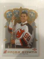 2001-02 Crown Royale Devils Hockey Card #152 Brian Gionta /267