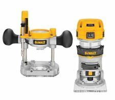 DEWALT 1.25 HP Electric Woodworking Router, Hand Held Wood Trimmer &Cutting Tool