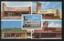Postcard MIAMI Florida/FL  Tylers Restaurant 5 Locations Multi-view 1950's