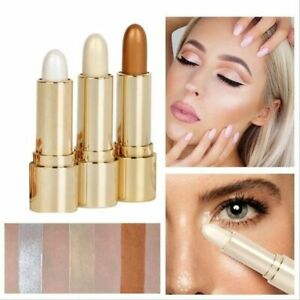 1pc 3d Face Highlighter Stick Concealer Contouring Bronzers Pen Corrector Makeup
