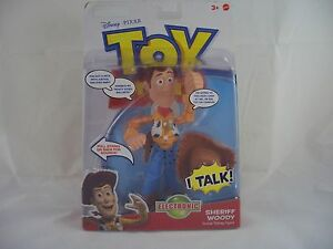 Toy Story Sheriff Woody Deluxe Electronic Action Figure