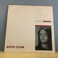 "DURAN DURAN Careless Memories 1981 UK 12"" Vinyl single EXCELLENT CONDITION"