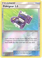 Pokemon Card - Sun & Moon Unbroken Bonds 182/214 - POKEGEAR 3.0 (REVERSE holo)