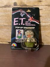 VINTAGE 1982 E.T. POP-UP WIND-UP SPACESHIP