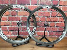 Enve 4.5 SES Chris King R45 Ceramic Carbon Clincher Road Wheelset 700c Rim Brake