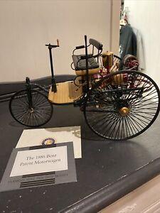 Franklin Mint- The 1886 Benz Patent Motorwagen 1:8 Scale