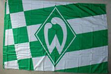 Werder Bremen  100 x 150  cm Neu Raute Fahne Flagge mit 2 Messingösen