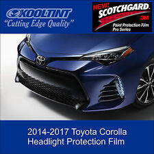 Headlight Protection Film by 3M for 2014 - 2017 Toyota Corolla