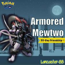 Armored Mewtwo 30-day Friendship Unregistered Trades ✔   Rare   Pokémon Go