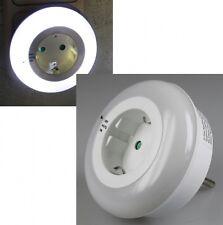 LED Nachtlicht mit Zwischenstecker 230V 3 weiße LEDs On/Off/Auto Nachtleuchte