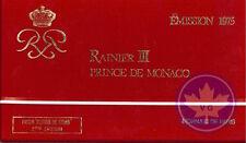 Monaco-1975-série Fleur de coin